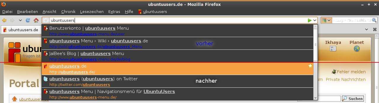 firefox seite durchsuchen